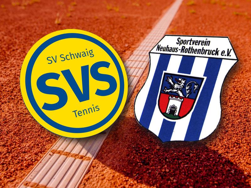 Medenspiel SV Schwaig gegen SV Neuhaus-Rothenbruck