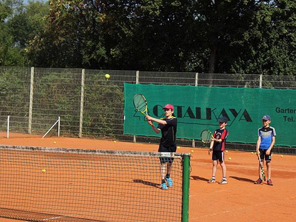 Impressionen vom Sommer-Tenniscamp 2015