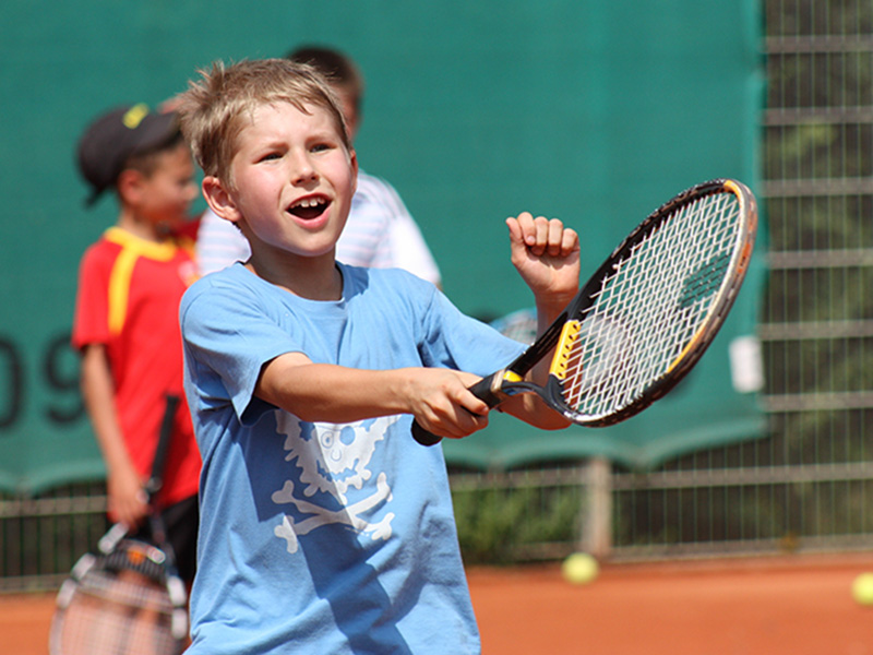 Tennis Know-how beim Pfingst-Tenniscamp des SV Schwaig